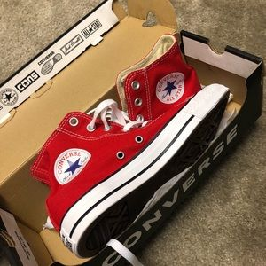 Converse Chuck Taylor High Top All Star Red